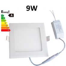 JSG Accessories® LED Square Recessed Ceiling Panel down Light Ultra-slim Lamp Ultra-Thin 9W